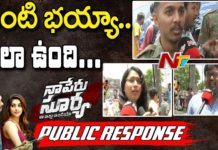 Naa Peru Surya Naa Illu India Movie Public Response